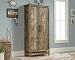 Sauder Granite Trace Collection Storage Cabinet, Rustic Cedar Finish