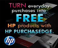 Get Free HP Products with HP PurchasEdge